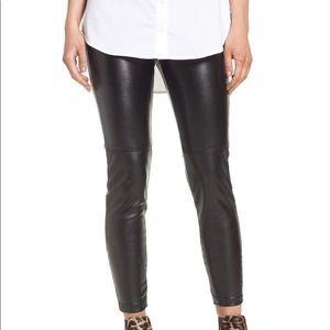 BLANK NYC | sz 25 high waist faux leather leggings